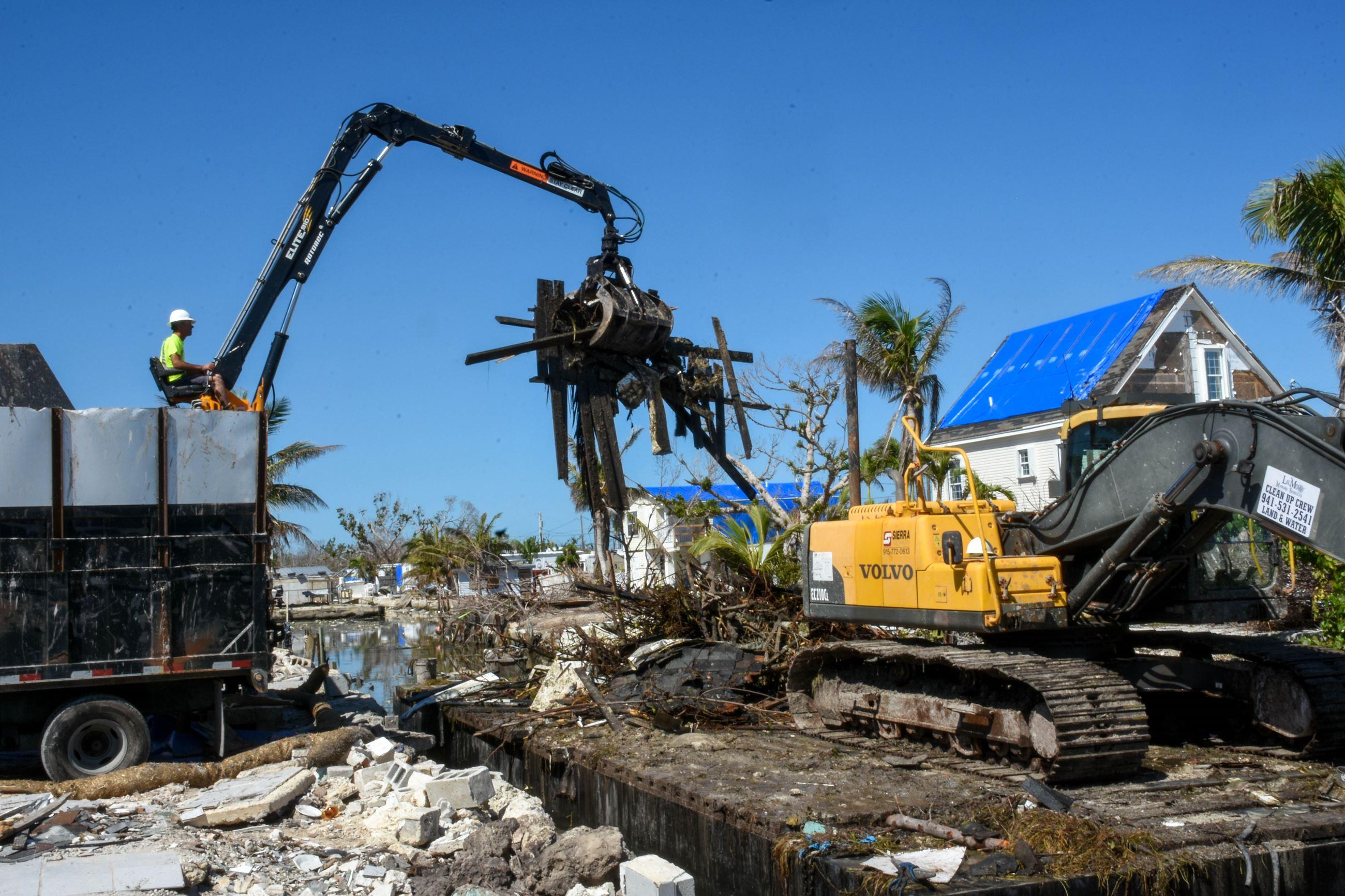 Marine Hurricane Debris Cleanup | Monroe County, FL - Official Website