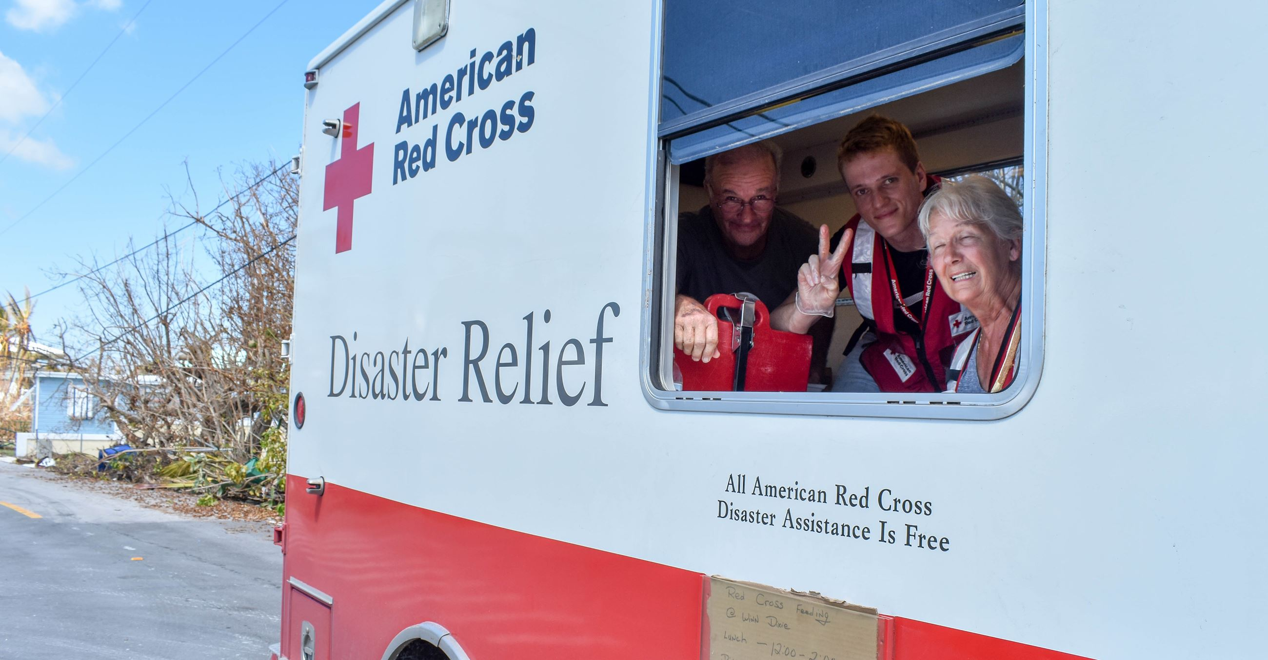 Hurricane Irma Red Cross response LR