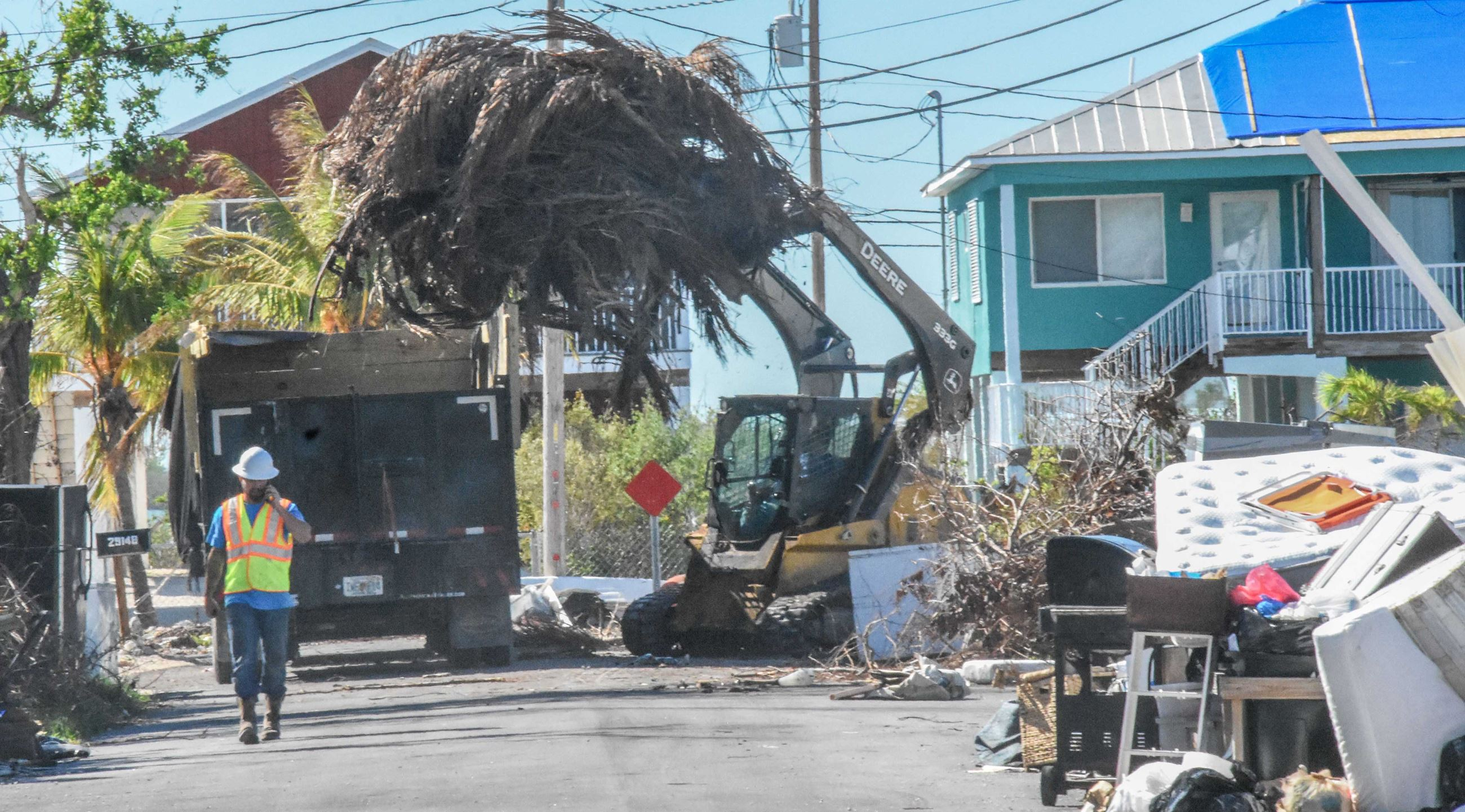 Debris Collection on Big Pine Key Dec. 2017-W