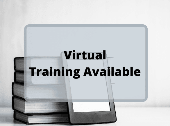 Virtual Training Available